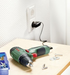 akku aufladen 10,8 volt PSR 10,8 LI