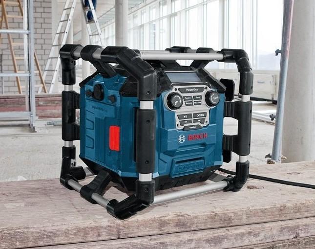Bosch Professional GML 20 baustellenradio radiofrequenzbereich