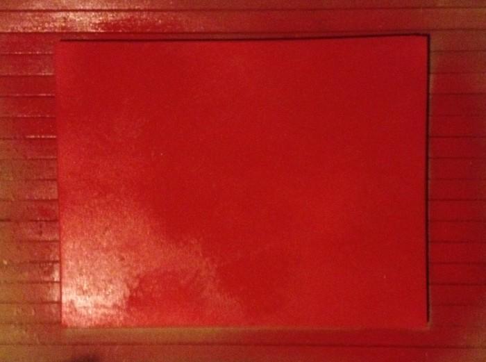 lackieren rot spraydose