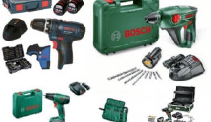 Die besten Bosch Akkuschrauber Sets für Einsteiger