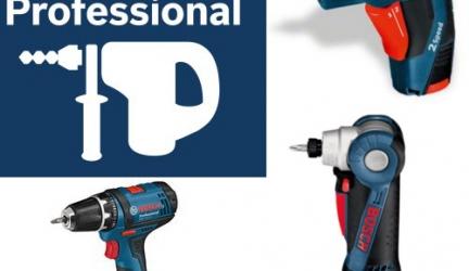 Bosch Professional: Highlights bei den ´Schraubern und Bohrern